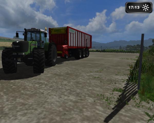Ensillage de mais Farming simulator