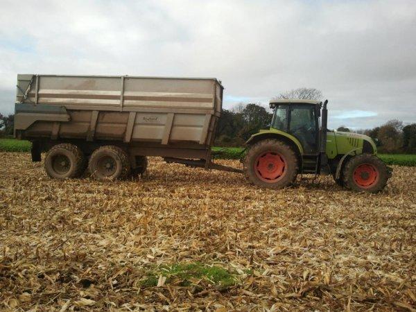Claas et brochard 16 tonnes