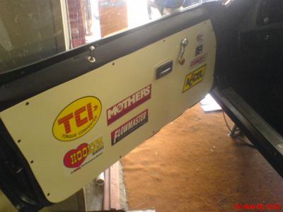panneau de porte off course camaro street racer 73. Black Bedroom Furniture Sets. Home Design Ideas