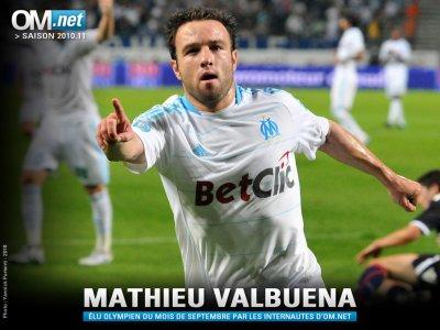 Votez Mathieu Valbuena Joueur du Mois de Décembre