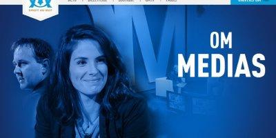 Laurie Samama sur le nouveau site de l'OM