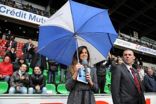 Laurie Samama sous la pluie bretonne