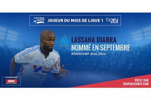 Votez Lassana Diarra joueur du mois de septembre de ligue 1