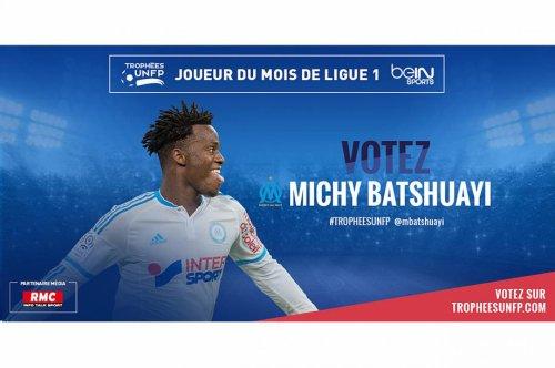Votez Michy Batshuayi joueur du mois de ligue 1 d'octobre