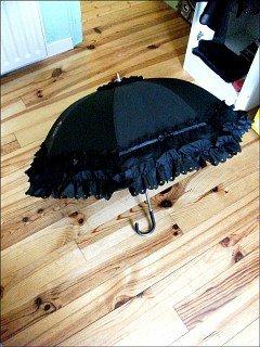 Ombrelle Baby noire