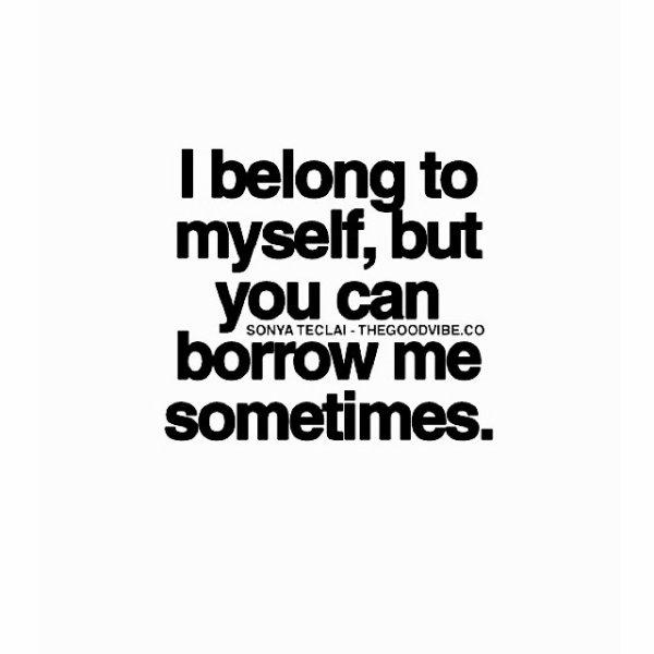Sometimes.. Bon matin ️️