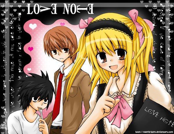 """Un L...Love Note O.O"""""""""""""""