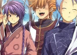 NuriKo,Tasuki et Chichiri en hiver