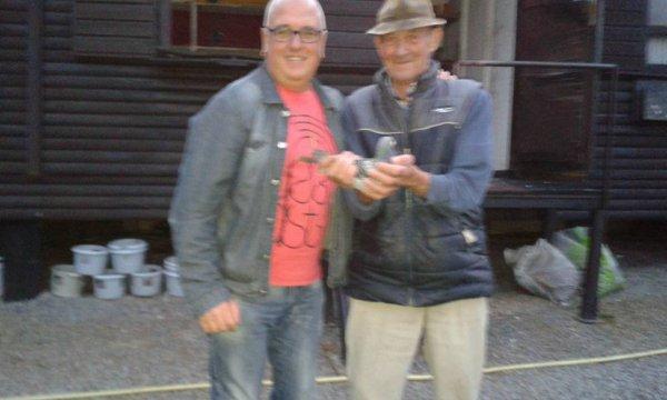 Chez Delbar Maurice le Jour de Perpignan 2015 , 3 National Perpignan.