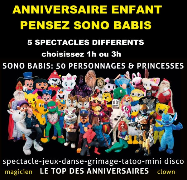 2021 56 personnages