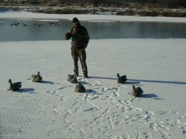 les derniers jours avec la neige et la glace , la fake gelée à environs 40 cm de glace trop beau innoubliable !!!