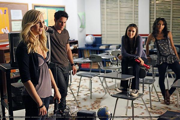 """Voici les stills et la bande annonce du 03X05 de Vampire Diaries intitulé """"The Reckoning"""""""