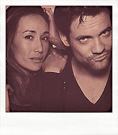 Shane West & Maggie Q