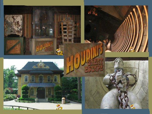 Houdini's Graet Escape