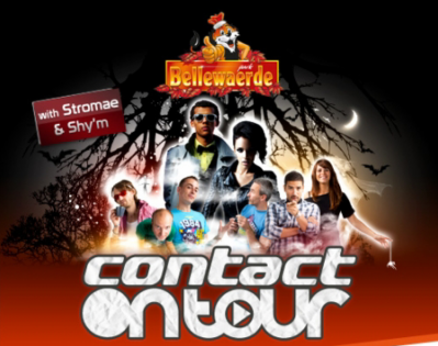 STROMAE & SHY'M en direct à Bellewaerde Park !