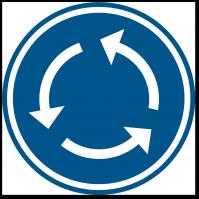 Nouveau rond-point pour accéder à Walibi Belgium !