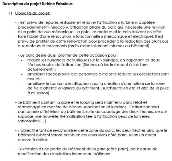 Les plans des projets 2012 de Walibi Belgium