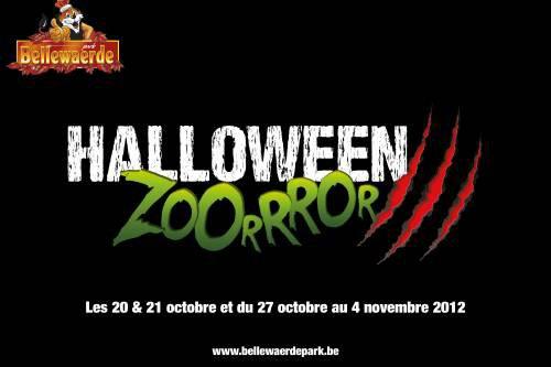 Nouveau theme pour Halloween + Petit travaux a Bellewaerde !