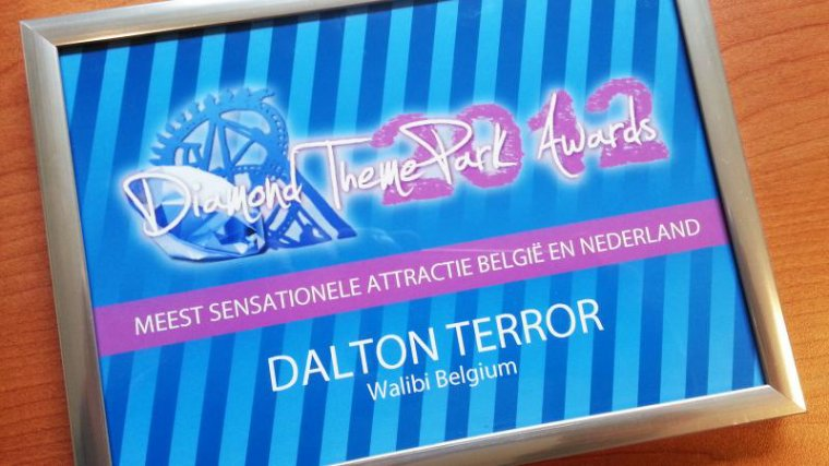 Walibi et Bellewaerde recois un Diamond ThemePark Awards !