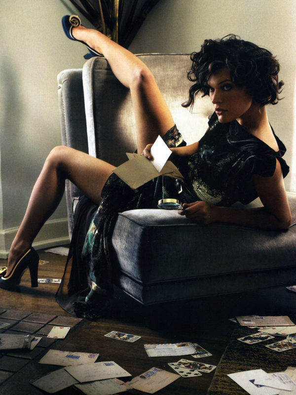 Milla Jovovich, femme d'action !