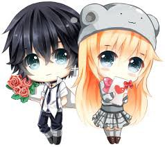 chibi couple ^^