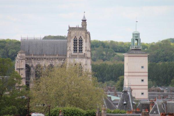 Mairie d'Abbeville/Collégiale Saint-Vulfran