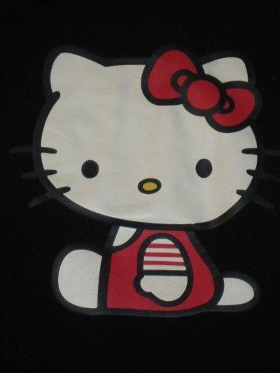 T-shirt femme noir manches longues Hello Kitty Sanrio Pimkie