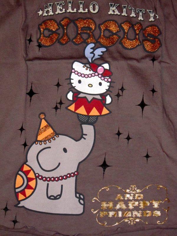 Top Hello Kitty Oysho Circus