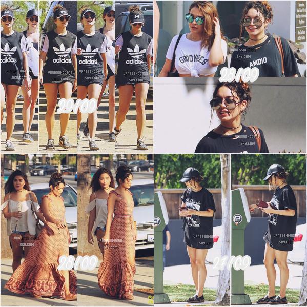 29/09/16 : Vanessa et sa BFF Ashley Tisdale faisaient une randonnée à Runyon Canyon, Los Angeles. + Le 28/09, elle sortait de Saoul Cycle puis a fait des emplettes avec Stella et le 27/09, elle était à Acting Class .