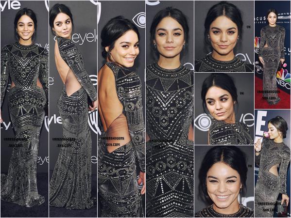 08/01/17 : Vanessa était aux soirées Warner Bros, 2017 InStyle et NBCUniversal's, Beverly Hills. Sa robe est juste éblouissante, j'en reviens pas, sa mise en beauté pareils, beau 1er event pour la belle Vanessa, très beau top.