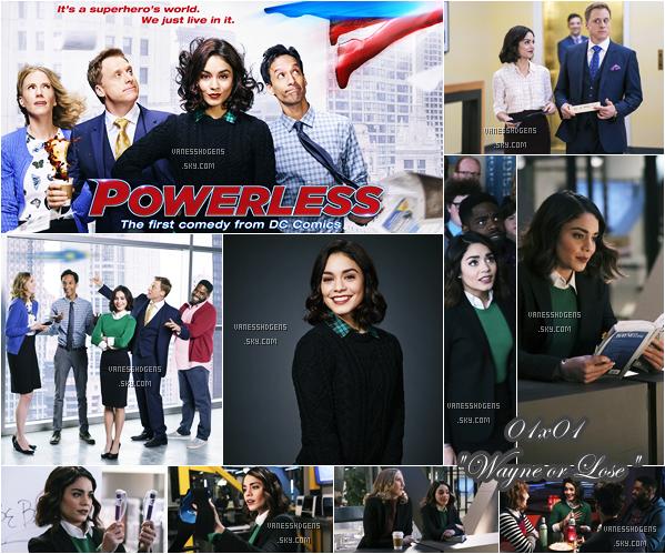 POWERLESS : Voici le poster et les 2 photos promotionnelles, ainsi que les stills du 1er épisode prévu le 02 fév sur NBC.