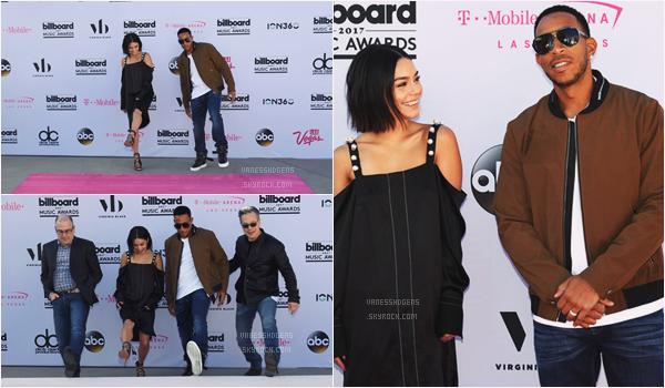 """- 19/05/17 : Vanessa H répétait pour la présentation des """"Billboard Music Awards"""", Las Vegas (NV). Ludacris s'entraînait avec elle. Niveau tenue rien de spéciale à dire, une tenue normale quoi, la robe est pas top. -"""