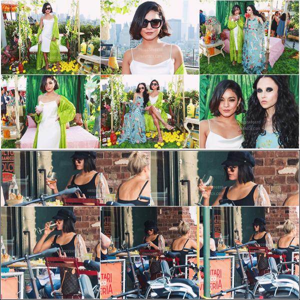 "- 22/06/17 : Vaness était au lancement de la collection ""Jose Cuervo"" de la marque Alice + Olivia, NYC (NY). Après elle s'est rendue au restaurant Il Buco Alimentari and Vineria à East Village, NY. Les deux tenues sont tops. -"