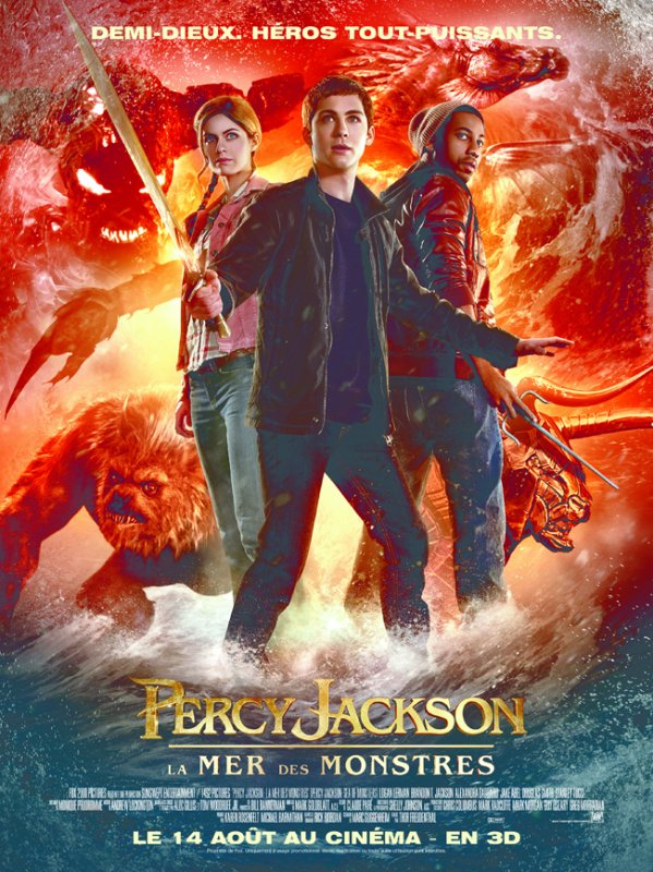 Percy jackson, la mer des monstre