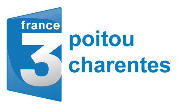 DIMANCHE 10 FEVRIER: INVITE DU JT REGIONAL 19/20 FRANCE 3 POITOU CHARENTES, EN DIRECTE SUR LE PLATEAU!