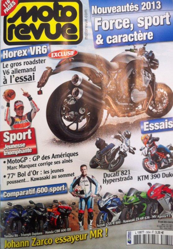 ESSAI DE MA MOTO DAKAR 2013! DANS LE DERNIER MOTO REVUE SORTIE AUJOURD HUI..