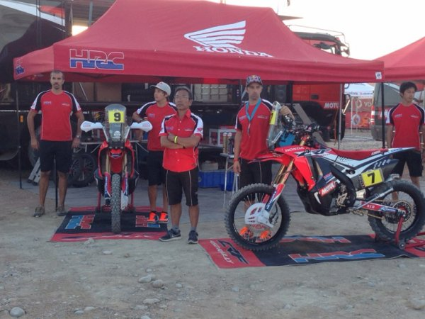 LES TEAMS MERZOUGA RALLY : HRC