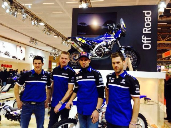 PRÉSENTATION TEAM DAKAR 2014 YAMAHA FACTORY RACING