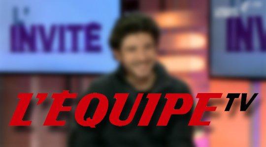 INTERVIEW EN DIRECT SUR LE PLATEAU DE L'EQUIPE 21 (CHAINE 21), VENDREDI 31 JANV, A 12H!