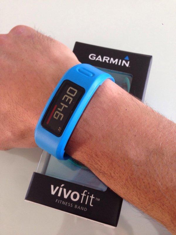 Mon nouveau partenaire d'entraînement : Vivofit. Merci Garmin :)
