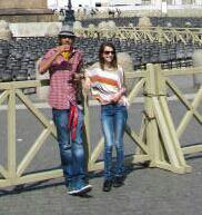 A roma con il mio amici