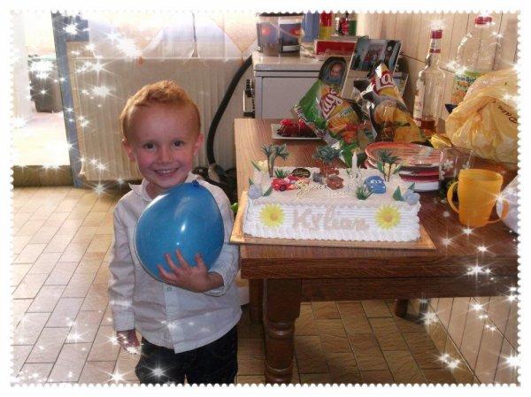 L'anniversaire de notre fils!