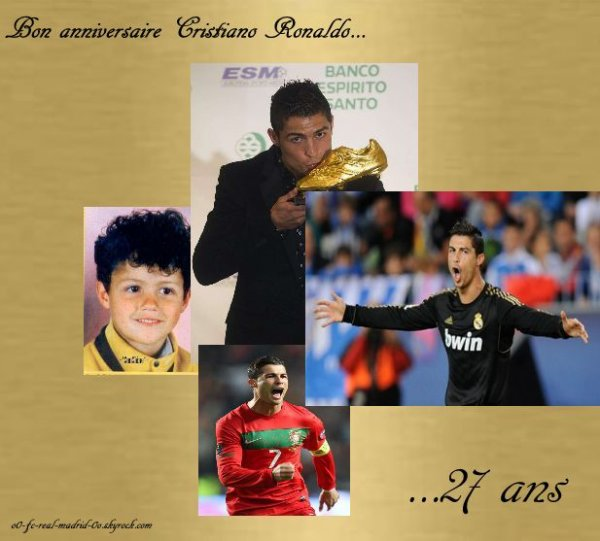 Parabens Cristiano ! :D