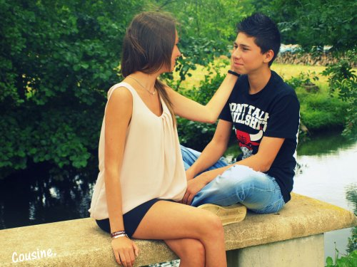 Ton sourire, fais le mien, mon cousin comme le petit frère que j'ai jamais eu.♥