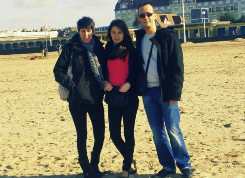 Mes parents, ceux a qui je doit tout.♥