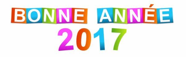 Meilleurs v½ux à toutes et tous pour 2017 !!!