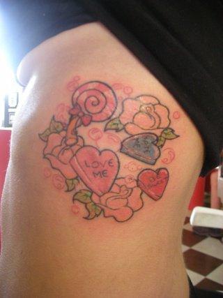 Quelques tatouages fait par princesse pudding