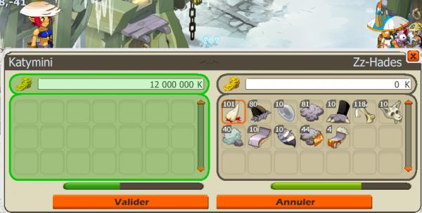 Donjon et Items D'anciens Temps !