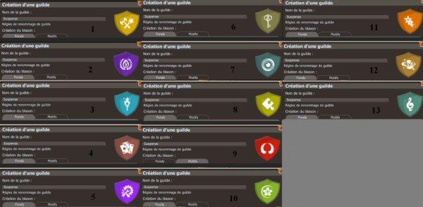 Création d'une guilde PvP