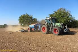 semi avec fendt 820